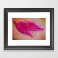 Vintage Pink Framed Art Print
