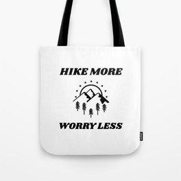 I Love Hiking Tote Bag