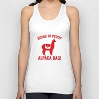 peru Tank Tops featuring Going To Peru? by AmazingVision