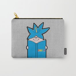 Reading Rainbow in Harmony - Blue Carry-All Pouch