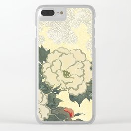 A Japanese summer Clear iPhone Case