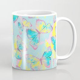 BUTTERFLIES YELLOW Coffee Mug
