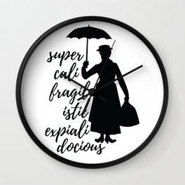 Mary Poppins Wall Clock