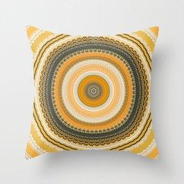 Very Detailed Mandala Throw Pillow