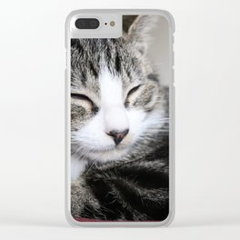Kitty! Clear iPhone Case