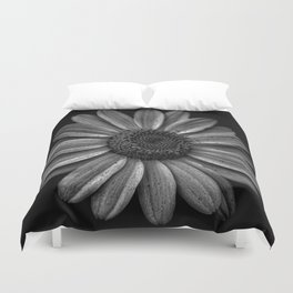 Darkened Daisy Duvet Cover