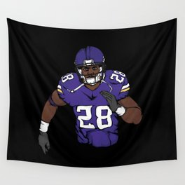 Adrian peterson Wall Tapestry