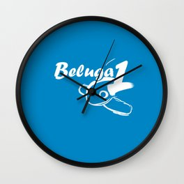 Beluga 1 Wall Clock