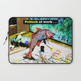 Pollock at Work Laptop Sleeve