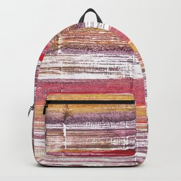 Lavender blush abstract watercolor Backpack