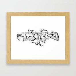 the maestro Framed Art Print