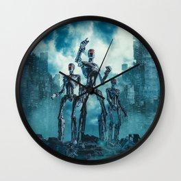The Patrol Wall Clock