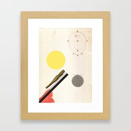 Ratios. Framed Art Print