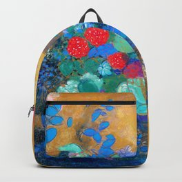 Odilon Redon - Ophelia in the flower - Digital Remastered Edition Backpack