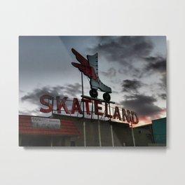 Memphis - Skateland 001 Metal Print