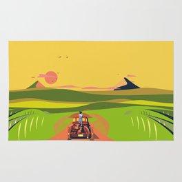 Farmhouse Hitchhiker Rug