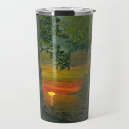 Forest Sunset Travel Mug
