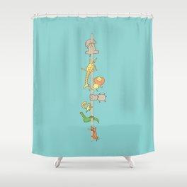 I love pole dancing Shower Curtain