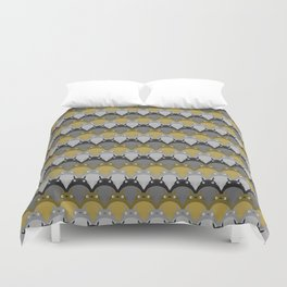 My Neighbour, Scallop Duvet Cover