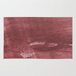 Sienna hand-drawn wash drawing pattern Rug