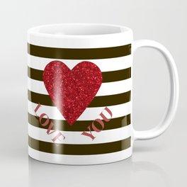 Love you Valentines day Coffee Mug