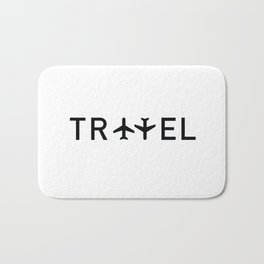 Travel and enjoy Bath Mat
