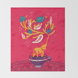 Eleplant Throw Blanket