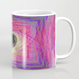Sacred Geometry Art- Fractal Art- Abstract Art- Helix- Torus- Double Yum Coffee Mug