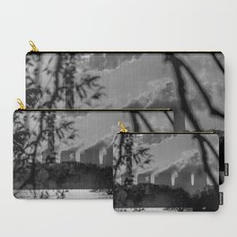 Power plants over a lake Carry-All Pouch
