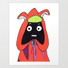 Alien Guy Art Print