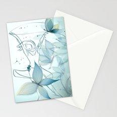 Le positive design dinamique du madame butterfly Stationery Cards