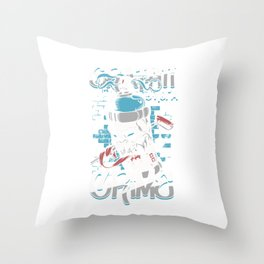 Graffiti Is Not A Crime  Spray Paintings Painters Throw Pillow