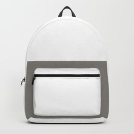 The Lord Your God Will Be With You Wherever You Go Joshua 1:9 Gray Backpack