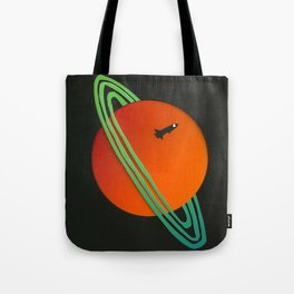 Planetary Flyby Tote Bag