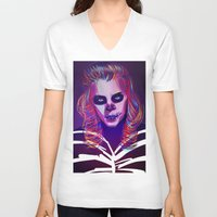 harry V-neck T-shirts featuring Harry by nasalouis