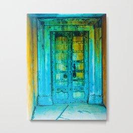 Door 3 Metal Print