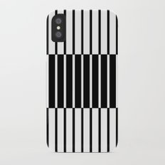 Zebras Play Piano Duet iPhone X Slim Case
