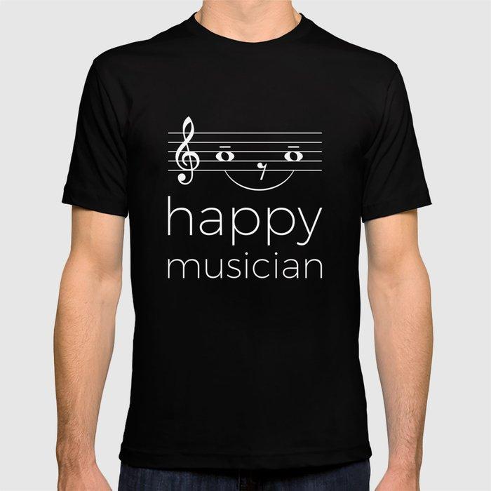 Happy musician (dark colors) T-shirt