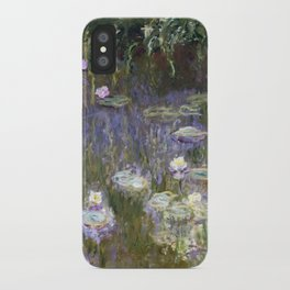 Water Lilies 1922 by Claude Monet iPhone Case