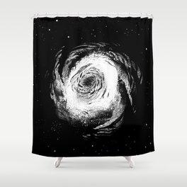 Spiral Galaxy 1 Shower Curtain