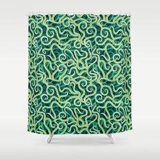 Cephalopod Soup Shower Curtain