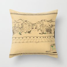 Creative Village Throw Pillow
