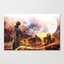 Light work Canvas Print