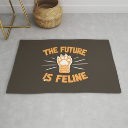 THE T/ME /S MEOW Rug