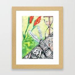 Kronos Throws Up Framed Art Print