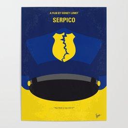 No891 My Serpico minimal movie poster Poster