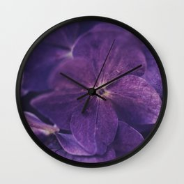 Hydrangea Fantasy  Wall Clock