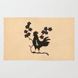 Delaware - State Papercut Print Rug
