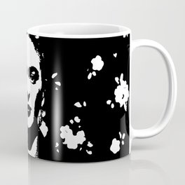 Black 'n white Frida Coffee Mug