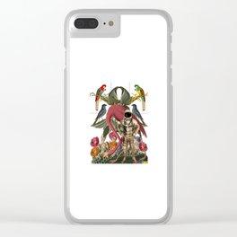 flamengo astro Clear iPhone Case